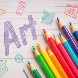 12색 색연필